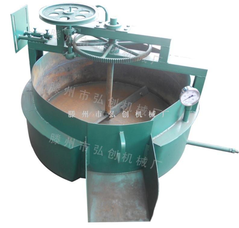 齿圈式导热油炒锅